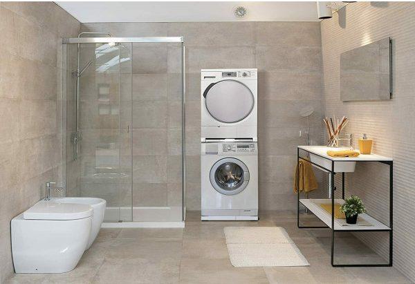 Meliconi Base Torre Pro L60 kit di sovrapposizione lavatrice e asciugatrice